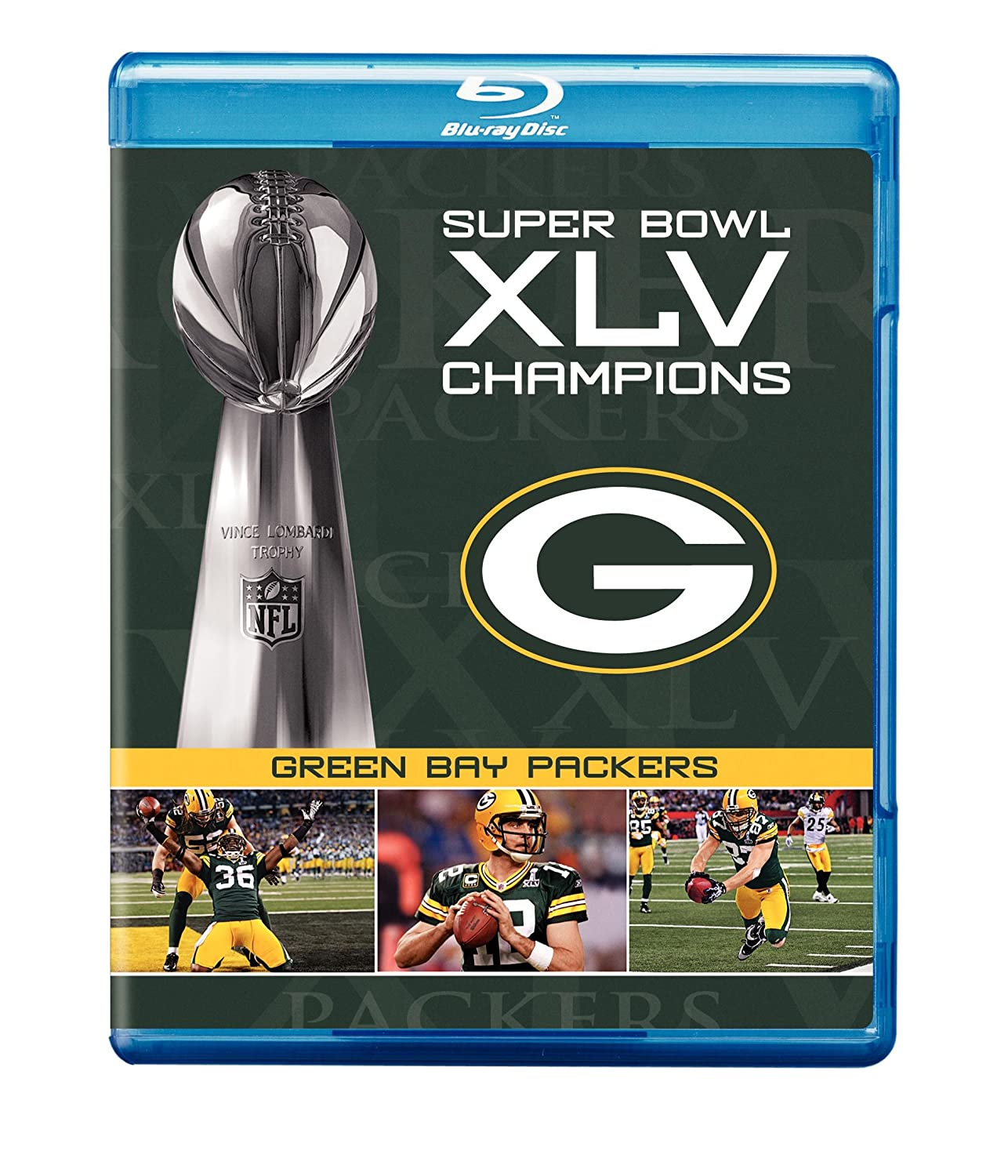 NFL Super Large special price Gorgeous Bowl XLV Champions: Bay Packers Blu-ray Green