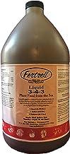 Fertrell Liquid 3-4-3 Organic Fertilizer Hydrolyzed Fish Emulsion with Kelp Seaweed and Humates, 32oz or Ga...