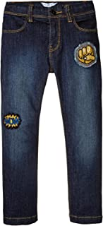 Little Marc Jacobs Baby Boys' Denim Trousers with Funny Patches