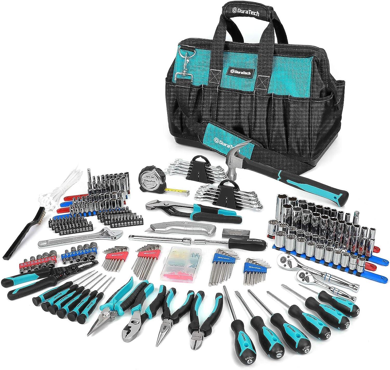 DURATECH 269-Piece Home Repair Tool Set Daily Long Beach Mall 2021 Mechanics Use Han