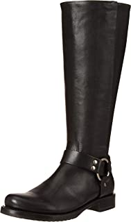 حذاء برقبة طويلة حتى الركبة لصدرية فيرونيكا للنساء من Frye, (أسود), 38 EU