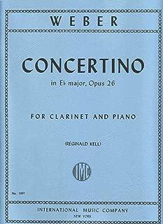 Concertino for Clarinet and Piano (Reginald Kell) Opus 26