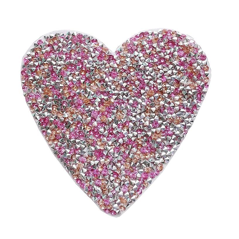 2pcs Iron on hotfix crystal clothes motif patch,gem applique for heat transfer clothing shoe bag diy (3.5