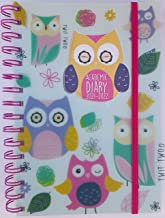 2021-2022 Day Per Page Mid Year Student Academic Diary, School Timetable/Planner, A5 Wiro Bound