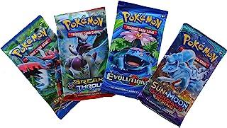 Pokemon TCG: 4 Booster Packs – 40 Cards Total| Value Pack Includes 4 Blister Packs of Random