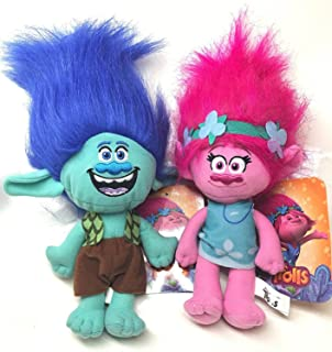 DreamWorks Trolls Movie - Trolls Branch and Poppy 15