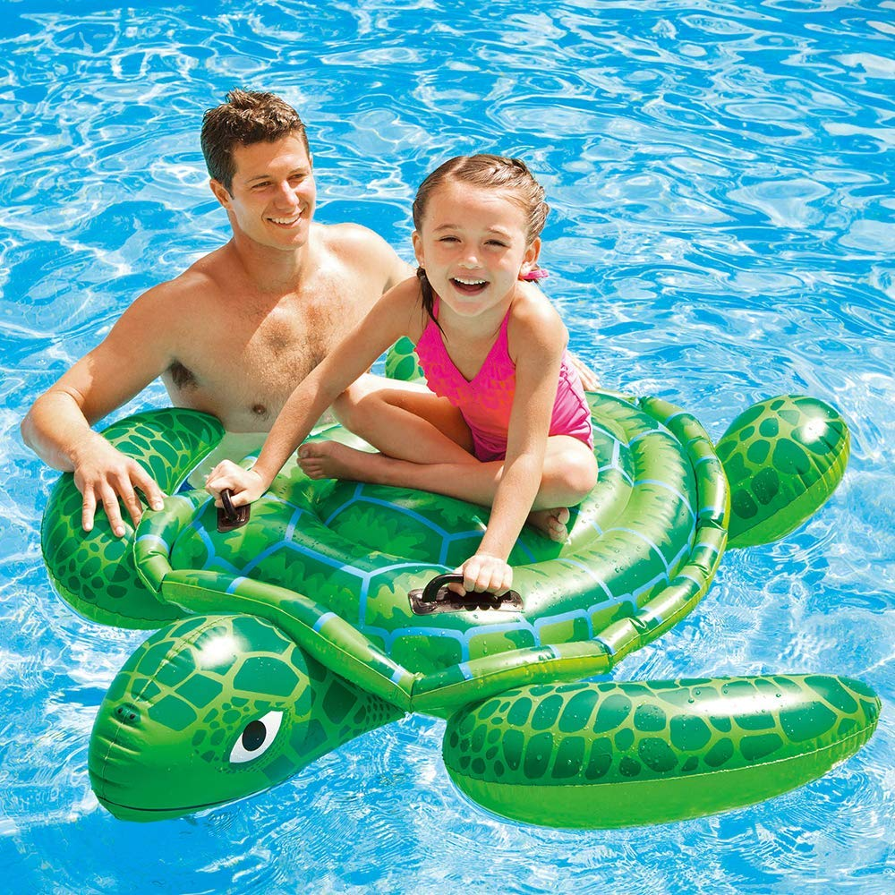 Hinchable Colchonetas Tortuga Animal Flotante Fila Gaint Piscina ...