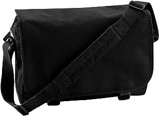 Bagbase Adjustable Messenger Bag (11 Litres) (UK Size: One Size) (Black)