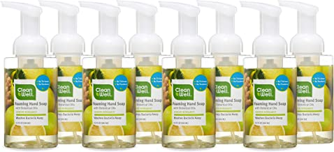 CleanWell 9.5 Ounce (8 PK) Ginger Bergamot Hand Soap - Discontinued by manufacturer