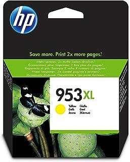 HP 953xl High Yield Ink Cartridge, Yellow - F6U18AE