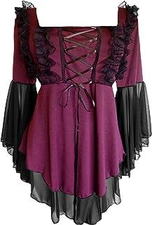 Dare to Wear Victorian Gothic Boho Women's Plus Size Fairy Tale Corset Top