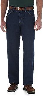 Wrangler Riggs Workwear Men's Contractor Jean, Antique Indigo, 48W x 34L