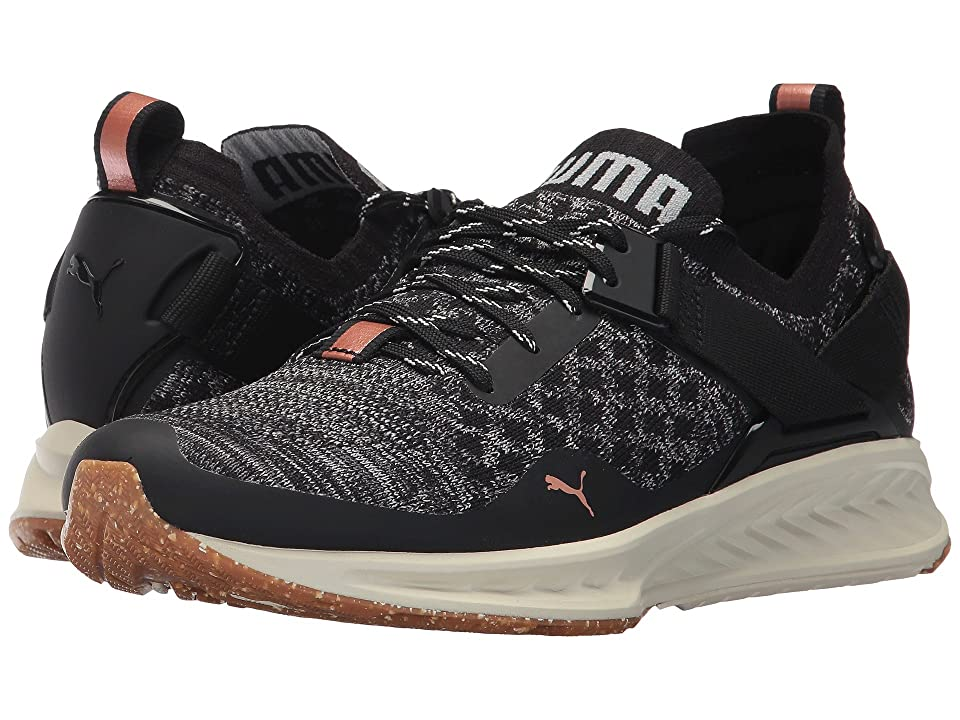 PUMA Ignite Evoknit LO VR (Puma Black/Quarry/Quiet Shade) Women