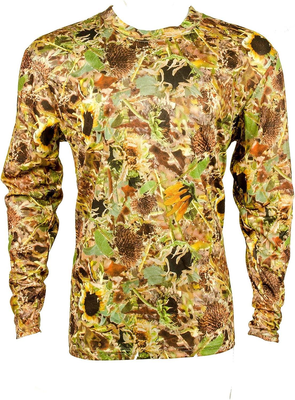 Sunflower 40% OFF Cheap Sale Camo High Tech Poly Long T-Shirt Store Sleeve