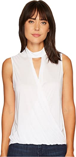 Surplice Tank Top