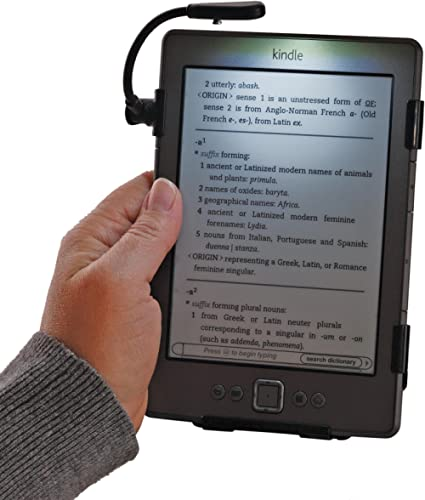 SimpleLight for Kindle 4th Generation Only, No Batteries Needed, See Photo for Compatible Model