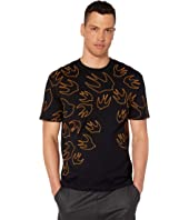 McQ - Signature Birds Dropped Shoulder T-Shirt