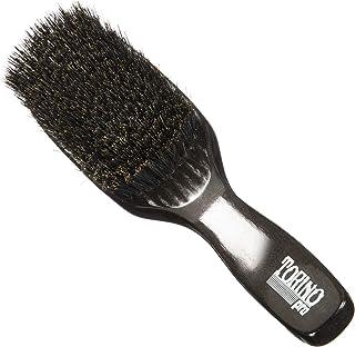 Torino Pro Wave Brush #1370 - By Brush King - Medium Soft, 11 Row Long Handle 360 Waves Brush