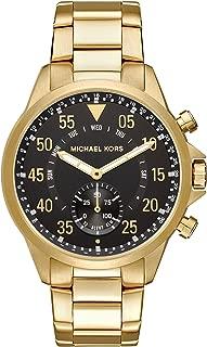 Men's Goldtone Gage Hybrid Watch