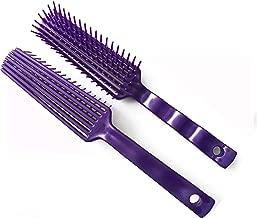 SXYH 2pcs Black Horse Pet Detangler Plastic Comb for Long Tail Mane Forky Comb