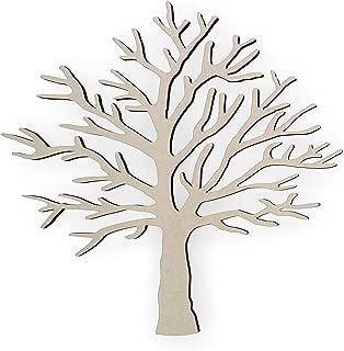Jess and Jessica Wooden Tree Shape – Cutout, Home Decor, Unfinished