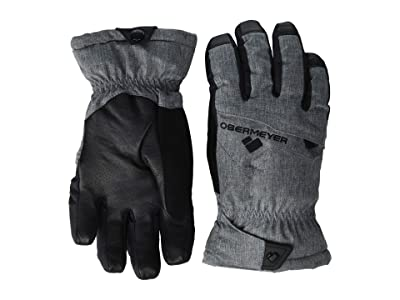 Obermeyer Kids Lava Gloves (Little Kids/Big Kids) (Knight Black) Extreme Cold Weather Gloves