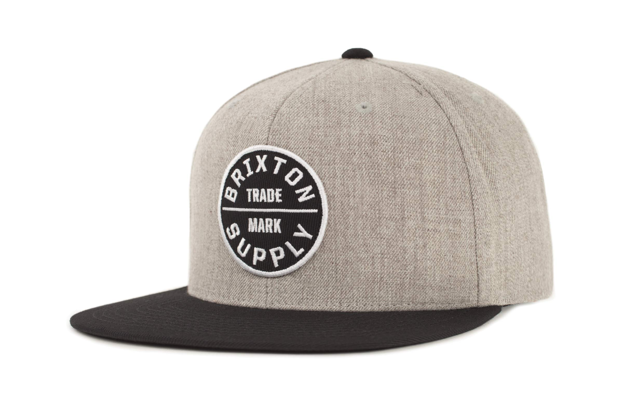 Brixton Profile Adjustable Snapback heather