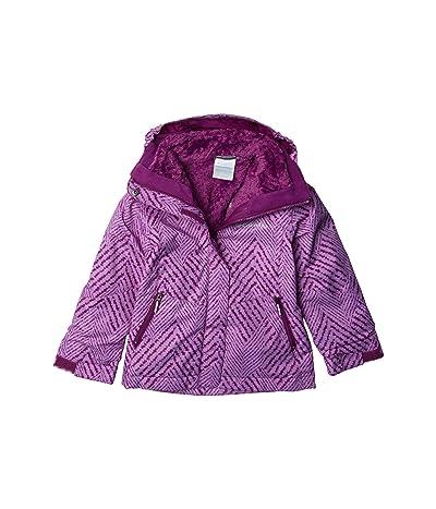 Columbia Kids Bugabootm II Fleece Interchange Jacket (Little Kids/Big Kids) (Plum Chevron Print) Girl