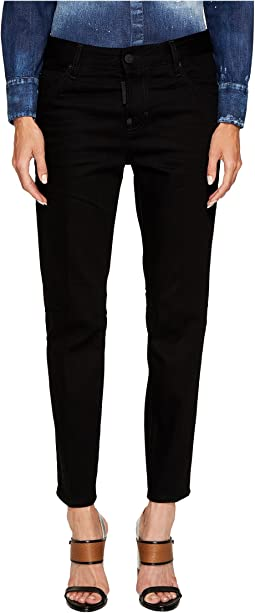 DSQUARED2 - Clean Wash Cool Girl Jeans in Black
