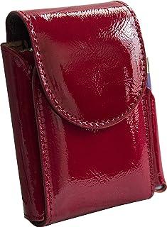 Portasigarette, porta pacchetto sigarette con porta accendino, Vera Pelle - Etabeta Artigiano Toscano - Made in Italy (Ver...