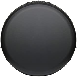 Moonet PVC Thickening Leather Spare Tire Wheel Cover for Car Truck SUV Camper Trailer Universal Fit RV JP FJ,R16 L Bl...