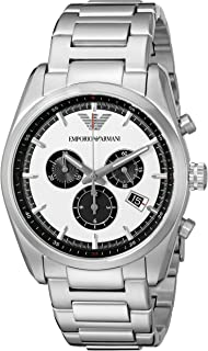 Emporio Armani Men's AR6007 Sport Silver Watch