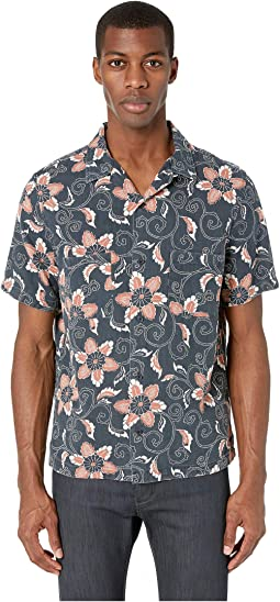 Double Face Floral Short Sleeve