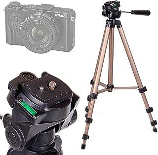 iE5036W /& Ixx353W Compatible with Fujifilm FinePix S1 WB2200F //Polaroid iE3035W iE3035W DURAGADGET Black /& Gold Lightweight Aluminium Tripod X100s //Nikon CoolPix L830 //Samsung WB1100F