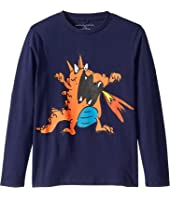 Stella McCartney Kids - Dragon Fire Long Sleeve T-Shirt (Toddler/Little Kids/Big Kids)