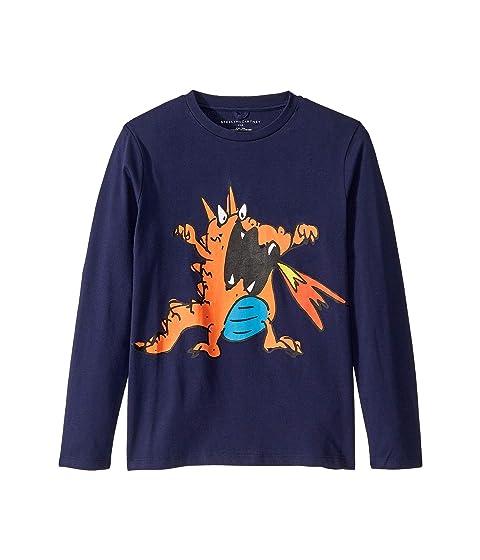 Stella McCartney Kids Dragon Fire Long Sleeve T-Shirt (Toddler/Little Kids/Big Kids)