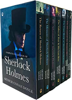 Sherlock Holmes Series Complete Collection 7 Books Set by Arthur Conan Doyle (Return,Memories,Adventures,Valley of Fear & ...