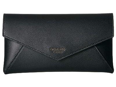 Kate Spade New York Chain Clutch (Black) Clutch Handbags
