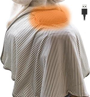 ZenCT 電気ひざ掛け 電気毛布 電気ブランケット USBブランケット ヒーター USB 肩掛け 膝掛け 掛け敷き毛布 手袋 丸洗い CT129