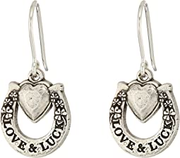 Alex and Ani - Fortune's Favor Hook Earrings