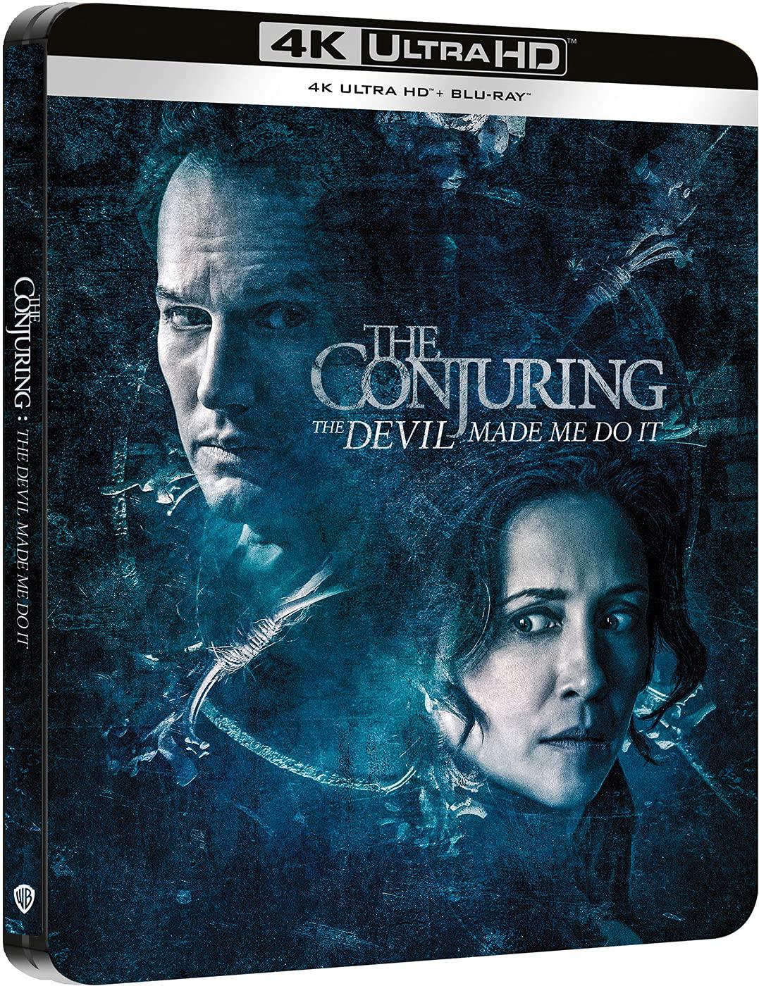 Expediente Warren: Obligado por el demonio - Steelbook 4k UHD + Blu-ray [Blu-ray]