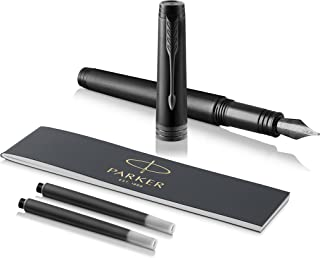 Parker 派克 Premier系列 纯黑 钢笔 礼盒装 F尖 18K笔尖 黑色笔芯