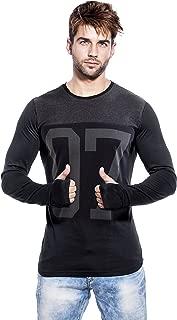 Maniac Men's Cotton T-Shirt (Men-Ss18-Thumb-Ring-07)