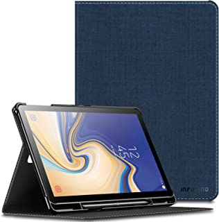 INFILAND Samsung Galaxy Tab S4 10.5 Case with S Pen Holder (Auto Wake/Sleep) for Samsung Galaxy Tab S4 10.5 Model SM-T830/ T835 2018 Release, Navy