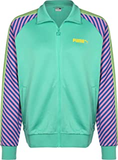 Puma T7 Pop Track Jacket Biscay Green Green Shirt For Unisex, Size M
