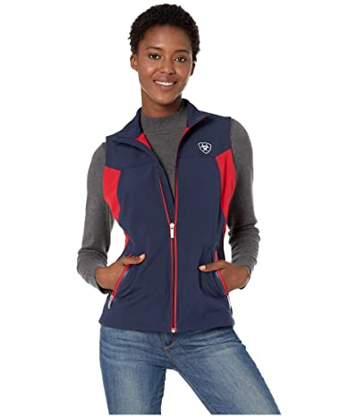Ariat New Team Softshell Vest (Navy) Women