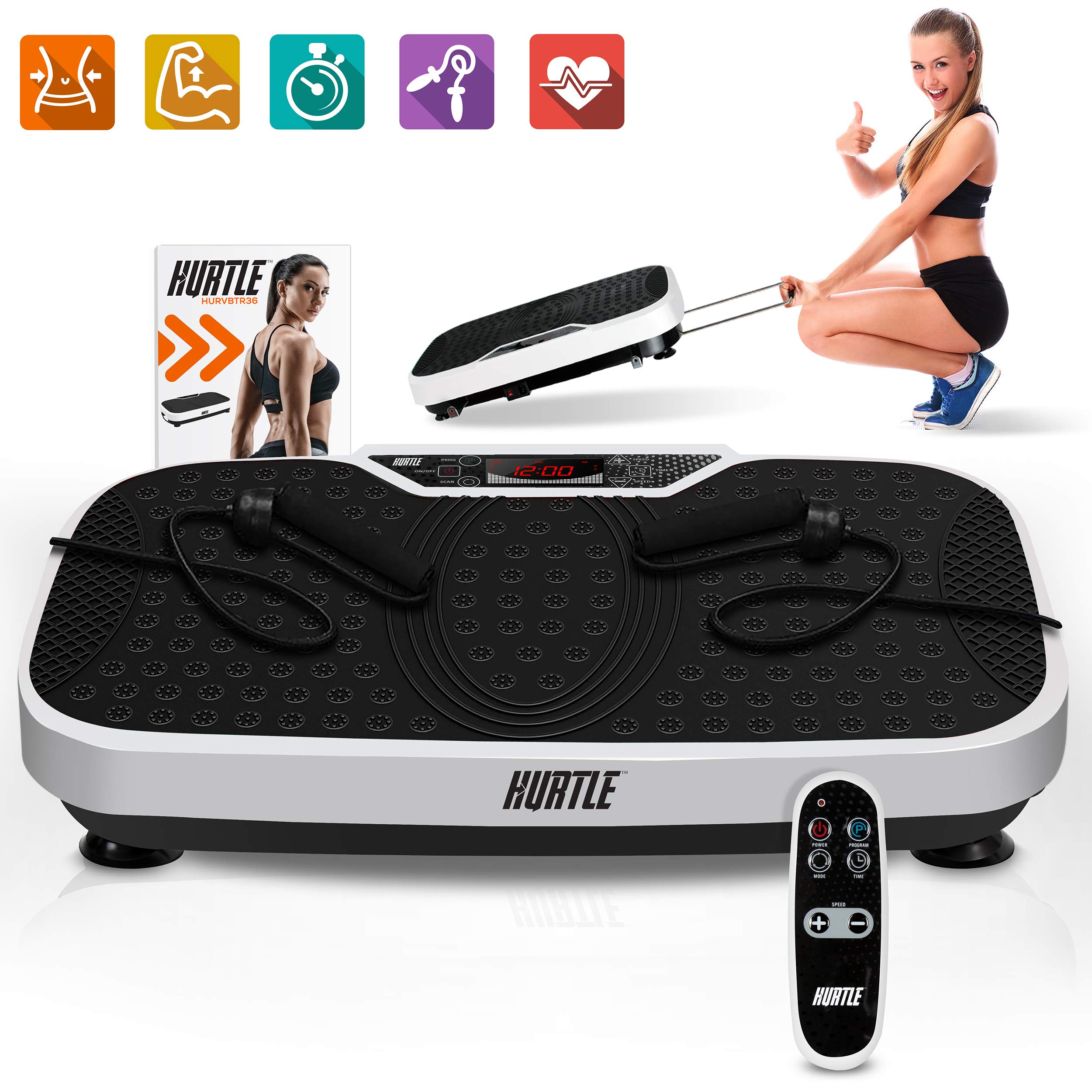 Hurtle Fitness Vibration Platform Machine