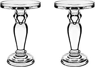 CYS EXCEL Glass Candle Holders for 4