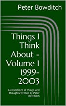 Things I Think About - Volume 1 1999-2003