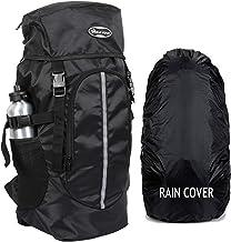 POLESTAR Hike BLK Rucksack with RAIN Cover/Trekking/Hiking BAGPACK/Backpack Bag
